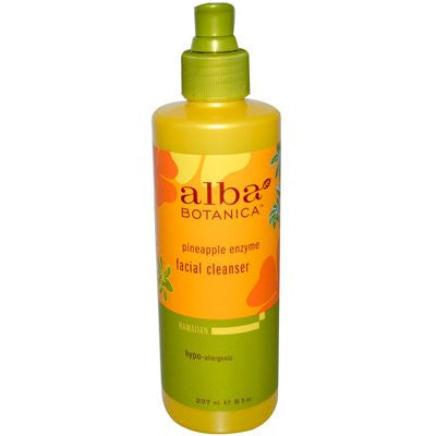 Alba Botanica Facial Cleanser Pineapple Enzymes 8.0 OZ