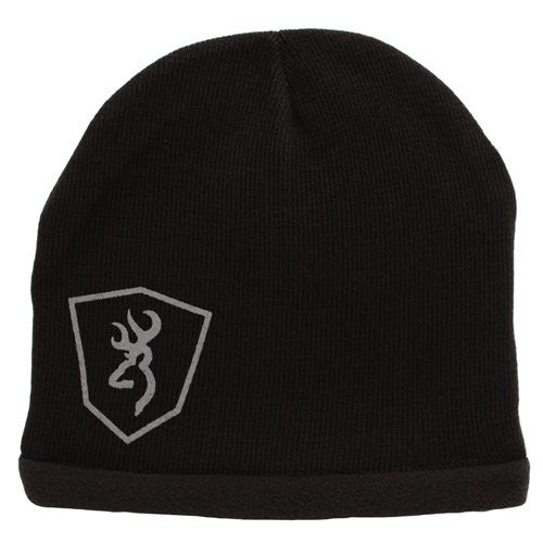 Browning Beanie, Echo Knit Black