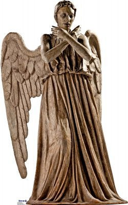 "Weeping Angel - Dr. Who 70"" x 44"" Stand-ups"