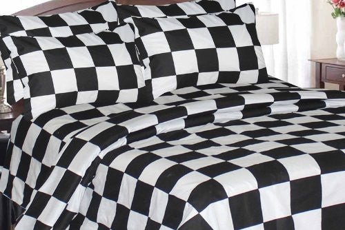 Checkered Flag Twin Comforter