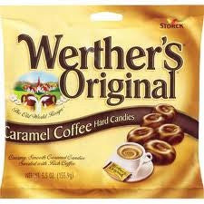 Werther's Original Caramel Coffee Hard Candies 2.65 oz 3 pack