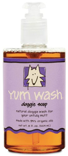 ALL-NATURAL LIQUID SOAP FOR HANDS AND BODY Y.U.M. ZUM WASH 8fl oz