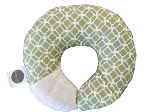 Babymoon Pod - Infant Head & Neck Support (Pea Pod Clover)
