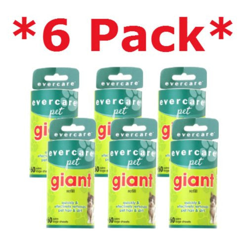Evercare Pet Giant 60 Layer Lint Refill (6 pk)