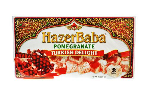 Pomegranate Turkish Delight (Hazer Baba Narlı Lokum) – 1lb