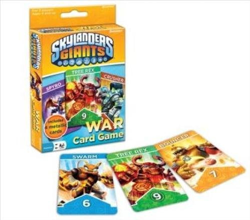 Skylanders War Card Game in Display