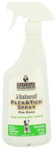 Natural Chemistry Natural Flea & Tick Spray For Dogs 24oz