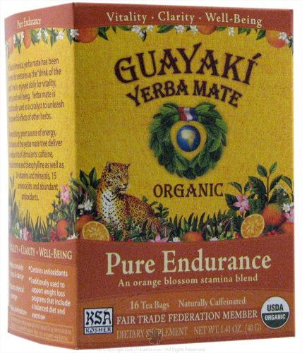 Organic Yerba Mate Orange Blossom 16.0 BG