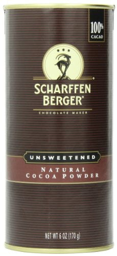 Cocoa Powder Natural Unsweetened 6.0 OZ