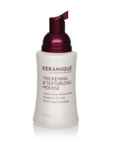 Thickening and Texturizing Mousse