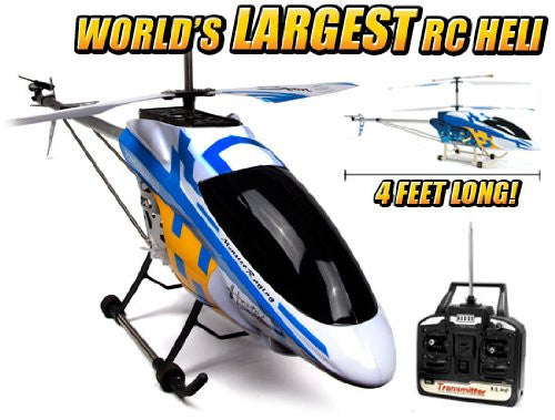 Colossus 3.5CH Metal Large RTF RC Helicopter
