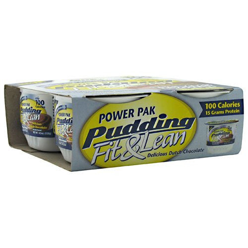 Power Pak Pudding Fit & Lean Dutch Chocolate - 4 Cups