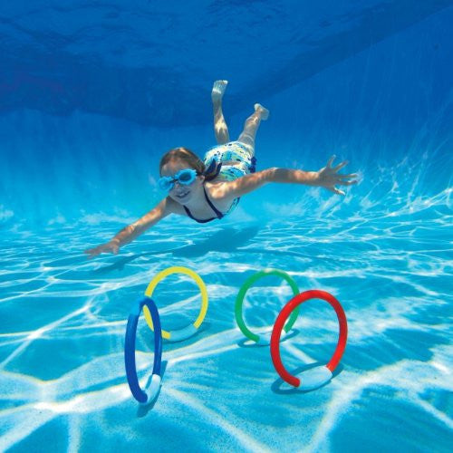 DIVE RINGS, Age 6+, 4 Colors
