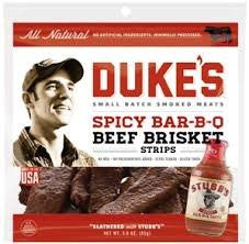 Duke's Jerky Steak Strip, Spice BBQ 3.0 OZ