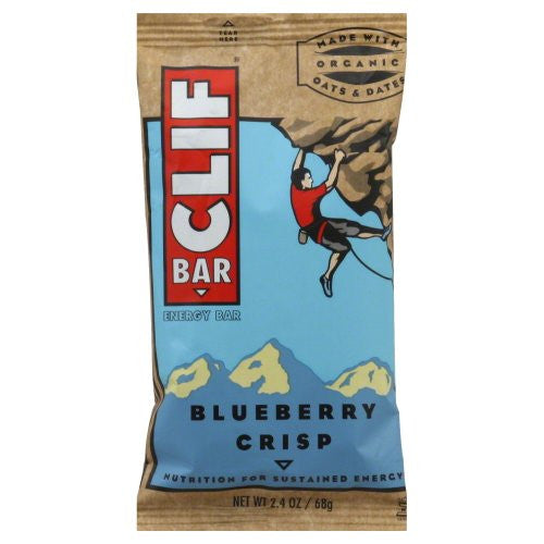 Clif Bar Blueberry Crisp 2.4 OZ (Pack of 12)