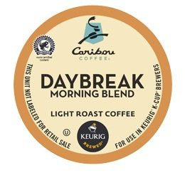 Caribou Coffee® Daybreak Morning Blend Coffee K-Cup® Packs, 24/Bx