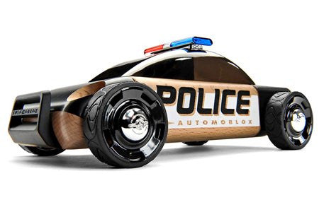 Automoblox S9 Police Car, Black