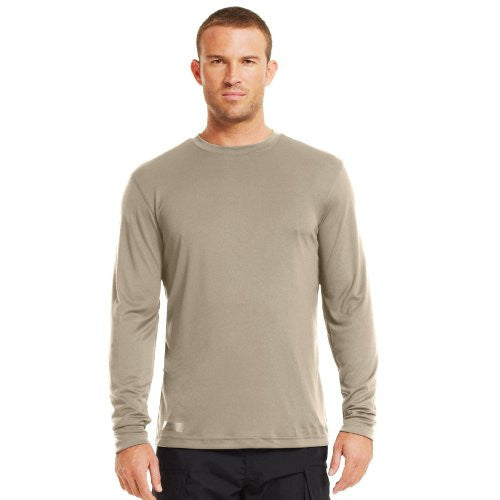 Heatgear Tactical Long Sleeve T-Shirt - Desert Sand, Large
