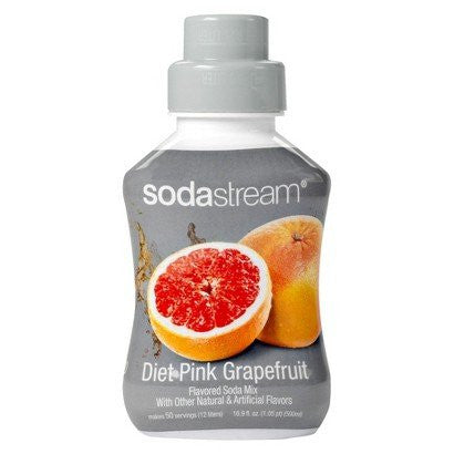 SodaStream Sodamix Diet Pink Grapefruit, 500ml