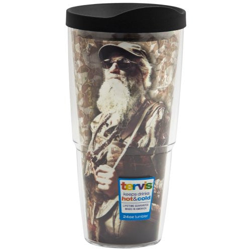 Duck Commander - Si Wrap with Lid 24oz Tumbler