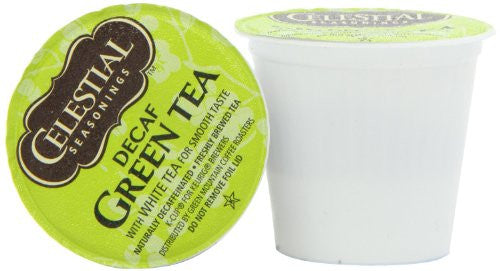 Celestial Seasonings® Green Tea Decaf K-Cup® Packs, 24/Bx