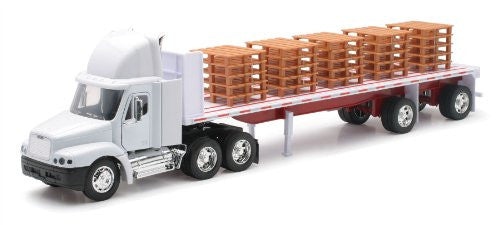Freightliner Century Class Flatbed with Pallets 1:32 Scale DIECAST CAB