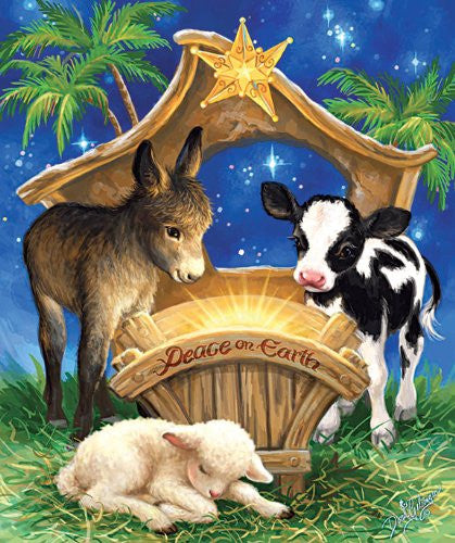 Born in a Manger 200 piece puzzle