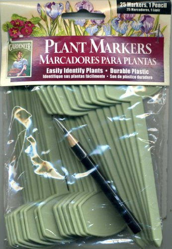 Gardeneer Plant Markers with Pencil