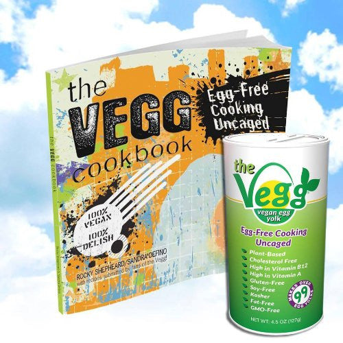 Vegan Egg Yolk Canister - 4.5 Oz / The Vegg Cookbook