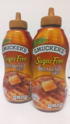 Breakfast Syrup Sugar Free 14.5 OZ (Pack of 2)