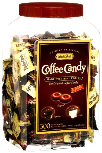 Bali's Best Assorted Coffee Candy in Jar