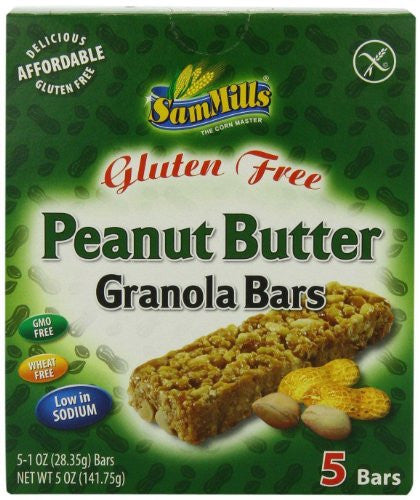 Gluten Free Peanut Butter Granola Bars 5.0 OZ (Pack of 3)