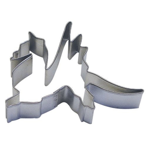 "Dragon 4"" Tinplated Cookie Cutter"