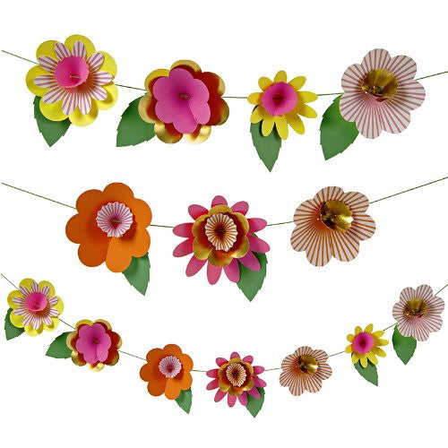 Fancy flower garland