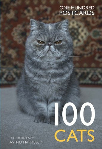 100 Cats One Hundred Postcards