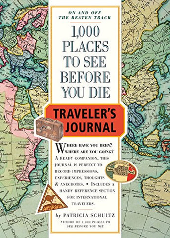 1,000 Places to See Before You Die Traveler's Journal (Not in Pricelist)