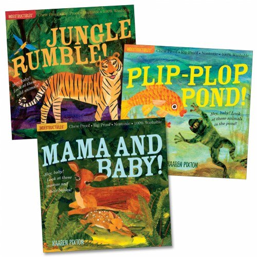 Indestructibles Plip-Plop Pond! (Paperback)  Indestructibles Jungle Rumble! (Paperback)  Indestructibles Mama and baby! (Paperback)