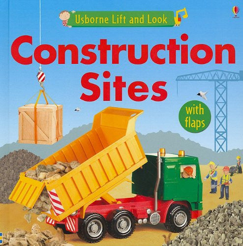 Construction Sites (Usborne Lift and Look)