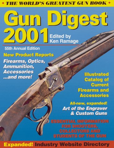 2001 Gun Digest 55th Ed  (Paperback)