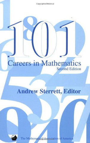 101 Careers in Mathematics - Second Edition (not in pricelist)