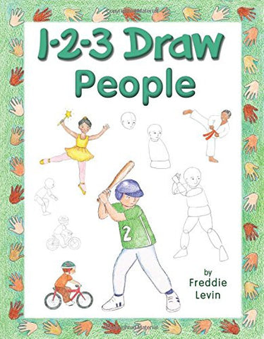 1-2-3 Draw People (Paperback)
