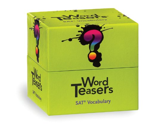 WordTeasers Classic Deck: SAT Vocabulary, 6x6x3