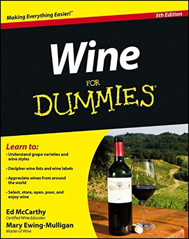 Wine For Dummies (Trade Paper) (not in pricelist)