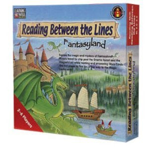 Reading Between the Lines - Fantasyland Game, Blue Level