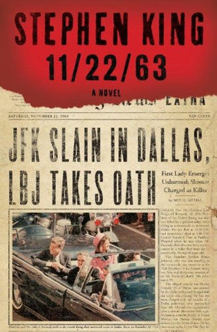 11/22/63, Stephen King  - (Hardcover) Large Print
