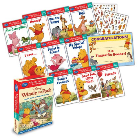 Winnie the Pooh: Reading Adventures Winnie the Pooh Level Pre-1 Boxed Set (Trade Paper)