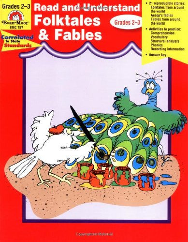 Read and Understand Literature Genres: Folktales and Fables, Grades 2-3 - Teacher Resource Book