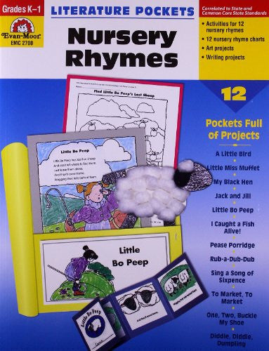 Literature Pockets: Nursery Rhymes, Grades K-1 - Teacher Resource Book
