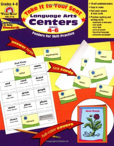 Take It To Your Seat: Literacy Centers, Grades 4-6 Teacher Resource Book