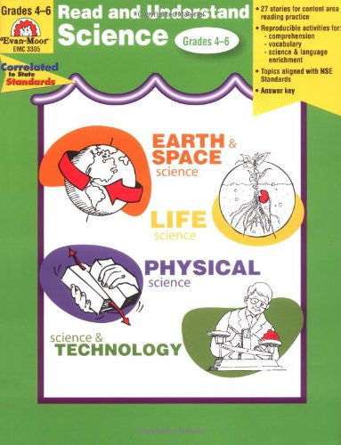 Read and Understand Science, Grades 4-6 - Teacher Resource Book